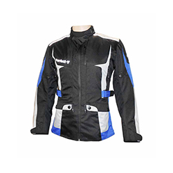 Textile Jacket Black, Blue And Grey (V Lady)