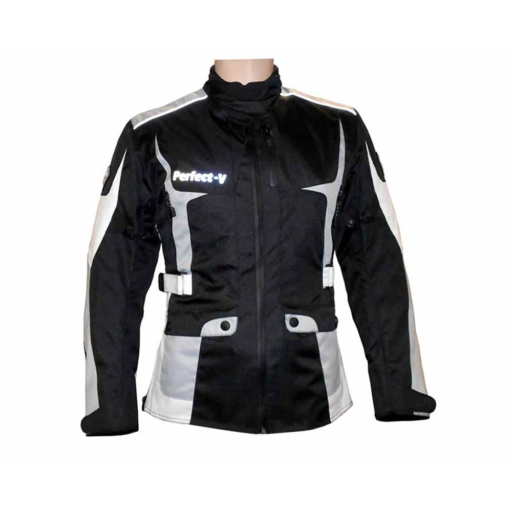 Textile Jacket Black And Grey (V Lady)