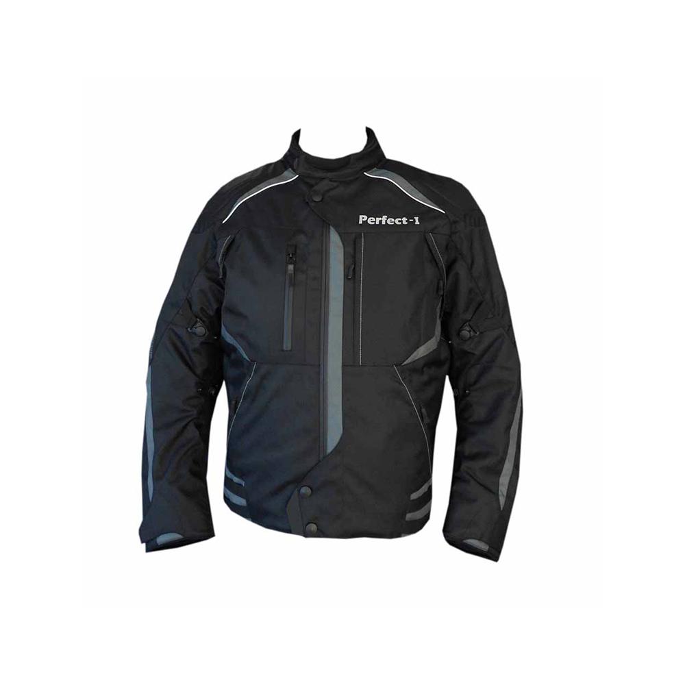 Textile Jacket Black And Grey (I)
