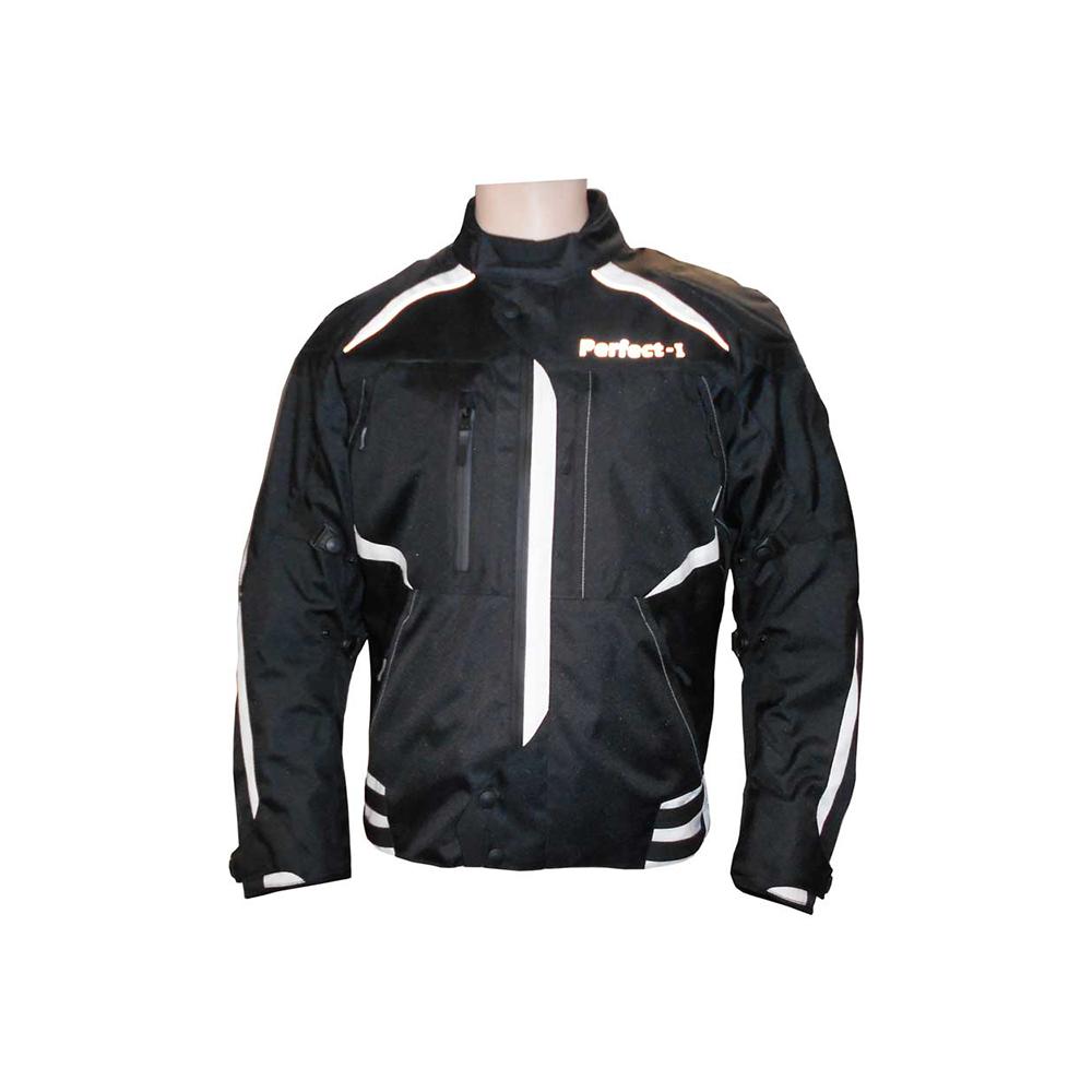Textile Jacket Black And White (I)