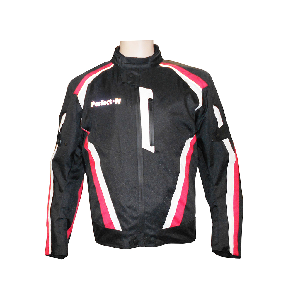 Textile Jacket Black And Red (IV)